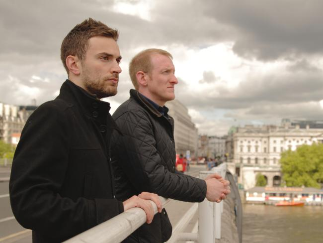 The Stranger On The Bridge features Jonny Benjamin and Neil Laybourn.