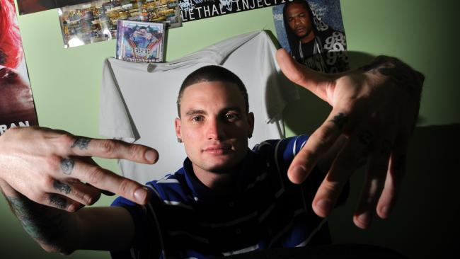 MC Kerser grew up in Cambpelltown, and is one of the most successful kings of gutter rap.