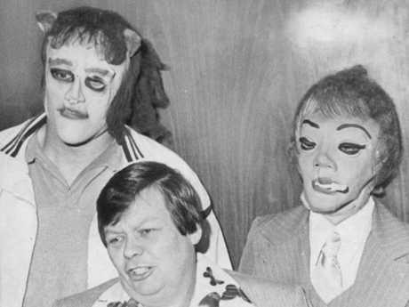 This 1979 photo shows transgender man Dante