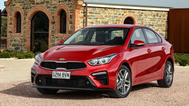 The new Kia Cerato.