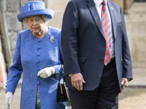 Queen left to face Trump alone