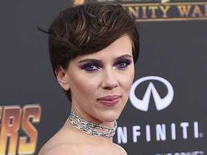 Scarlett forced to quit transgender film