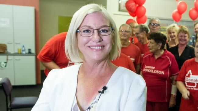 CRASH DRIVER: Former State Member for Bundaberg Leanne Donaldson is understood to be in a Brisbane Hospital.