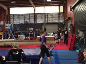 Gymnastics masters action