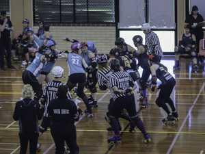 Northern Brisbane Rollers take on the Tweed Valley