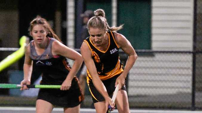 Hockey - Southern Suburbs player Andrea Farrow.