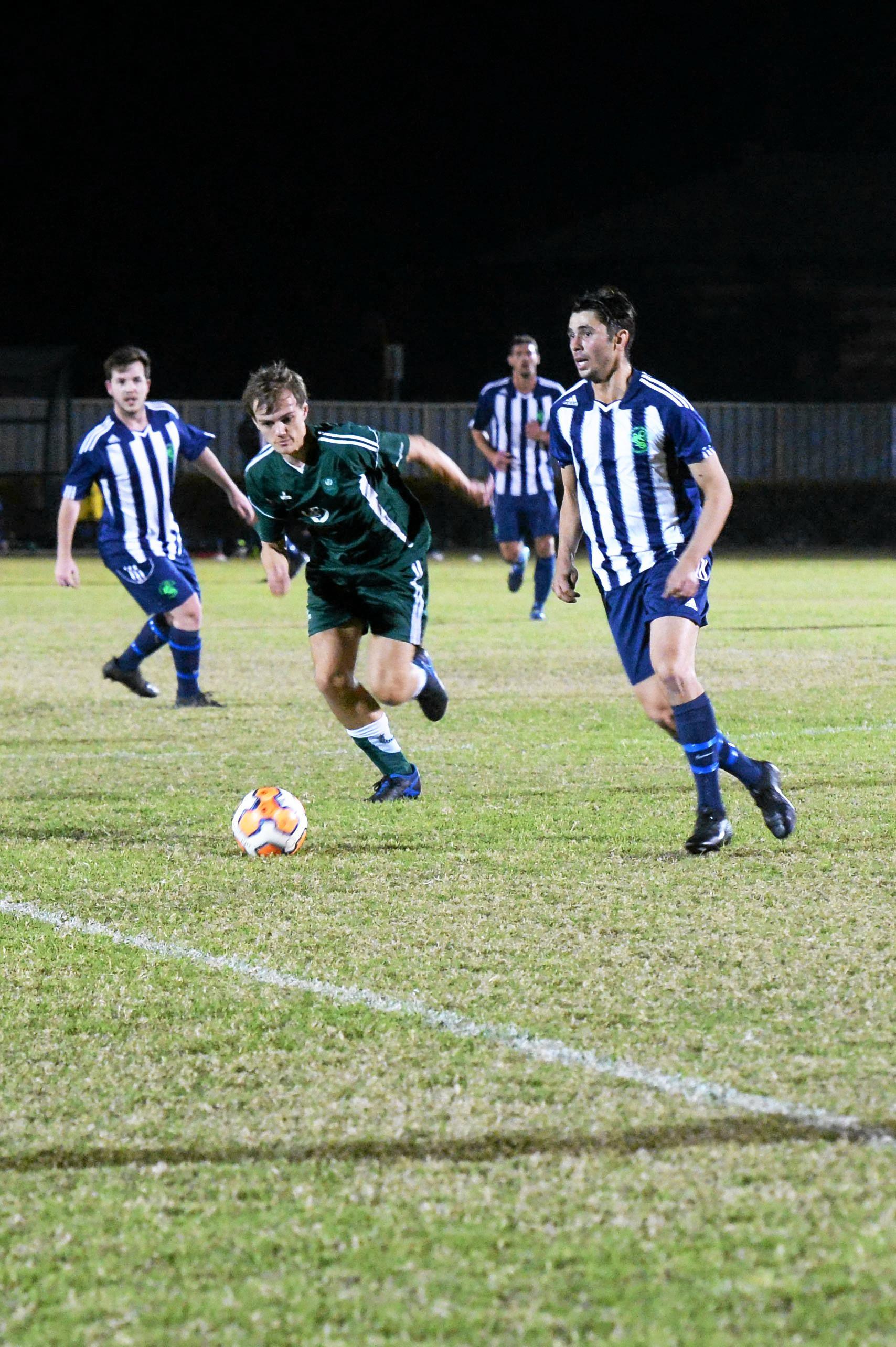 Soccer - Frenchville SC player Ben Forrest