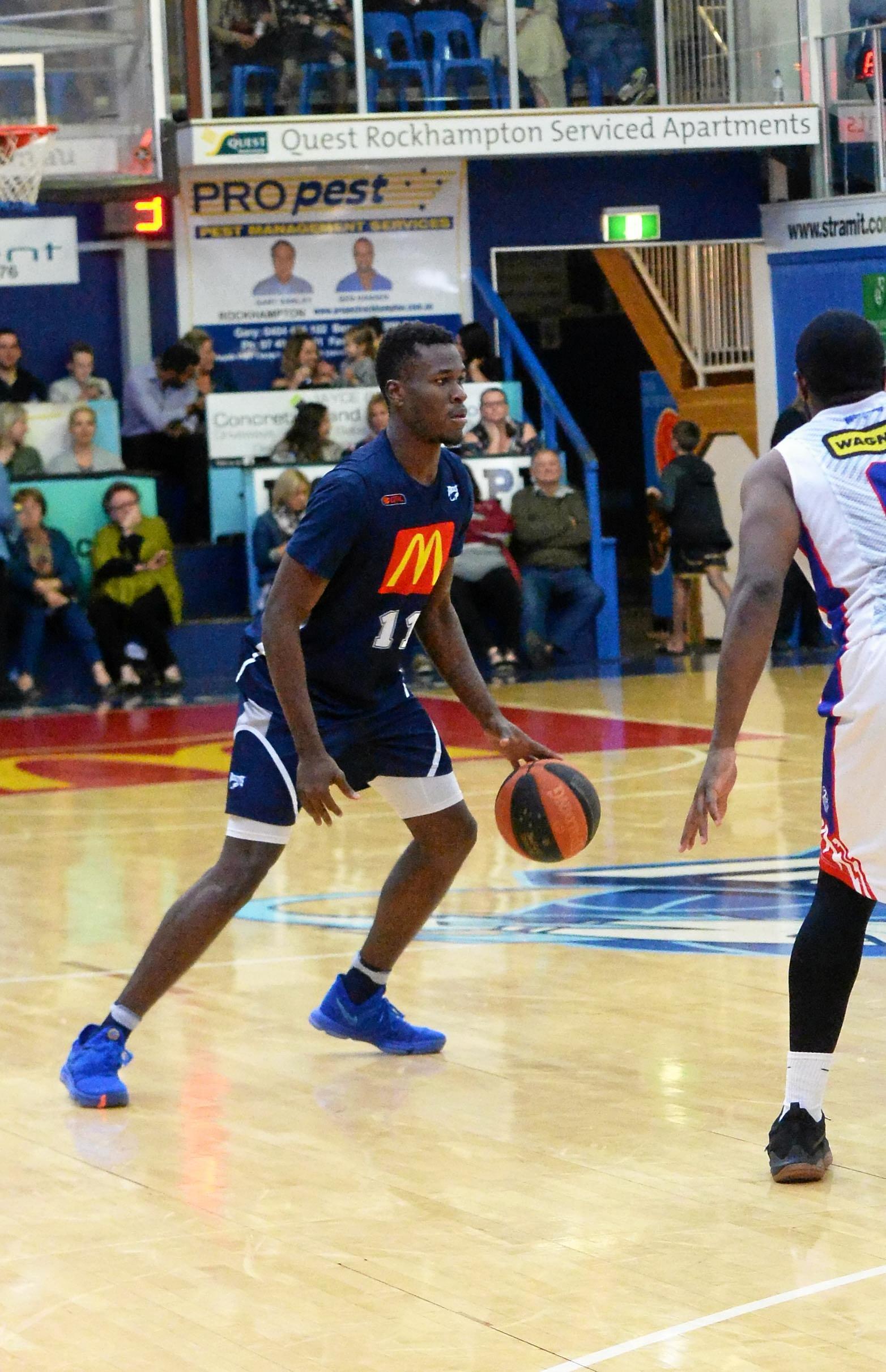 Basketball - Rockhampton Rockets player Malcolm Bernard