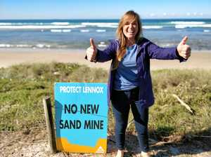 Surfers weigh in on sand mine proposal