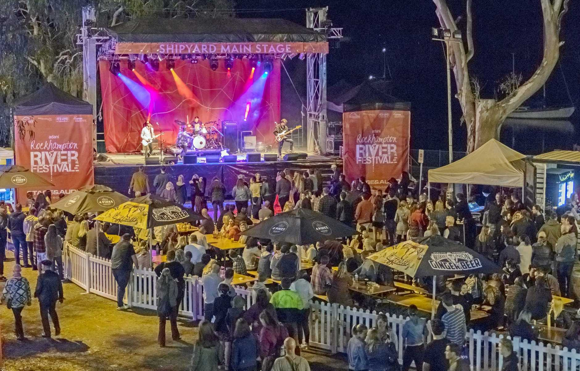 Rockhampton River Festival 2018 Riverfront Entertainment