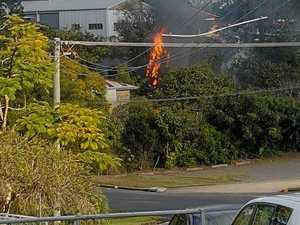 UPDATE: Witness captures footage of mystery Gympie shed fire