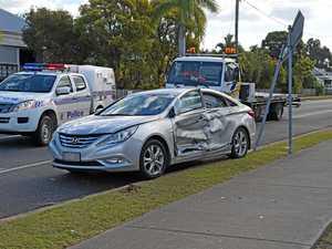 Van flips on side in Mboro crash
