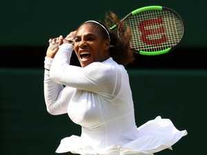 Super mum Serena's incredible rankings rise