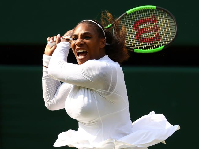 Serena Williams has had a remarkable rise up the rankings.