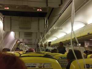 BLOOD FROM EARS: 'Nightmare' flight as plane falls from sky
