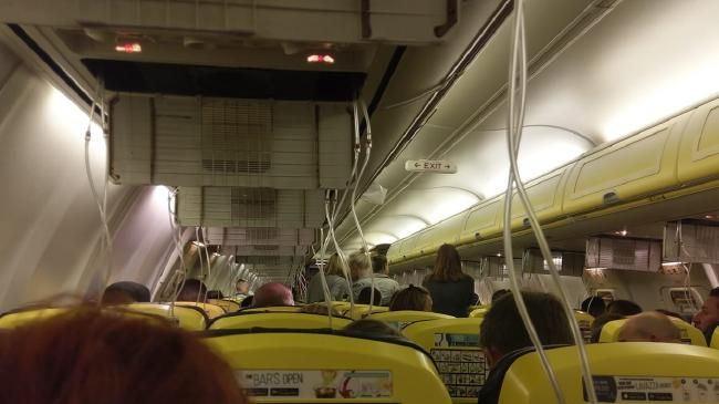 Ryanair passengers left bleeding from ears after terrifying descent