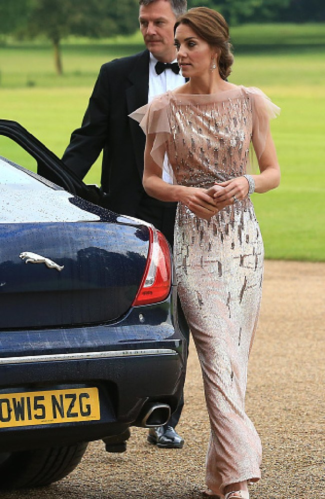 Kate recycling the look in 2016. Picture: Stephen Pond/Getty Images