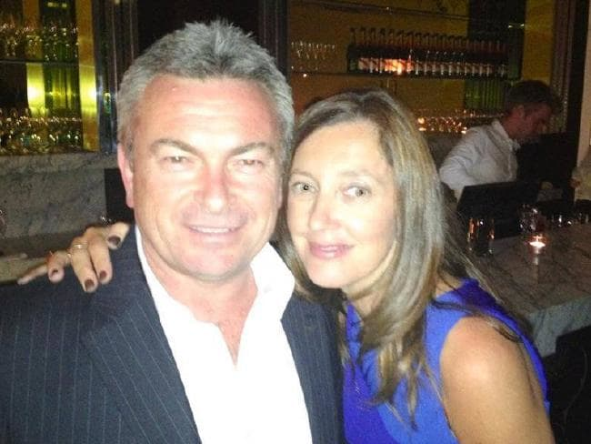 Borce and Karen Ristevski, whose body was found eight months after she went missing.