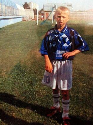 Luka Modric endured a tough childhood.