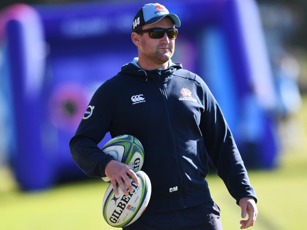 Waratahs attack coach Chris Malone is staying positive. Picture: AAP