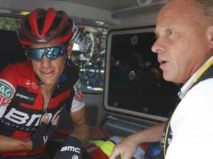 Heartbroken Porte: 'I was on the ground before I knew it'