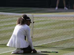 Tears as Serena's fairytale dashed