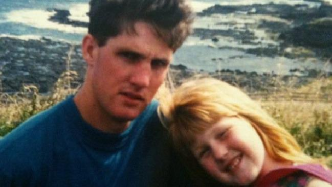 Missing Victorian man Andrew Dymott with his niece Sarah, who shares the same birthday with him. Picture: Facebook