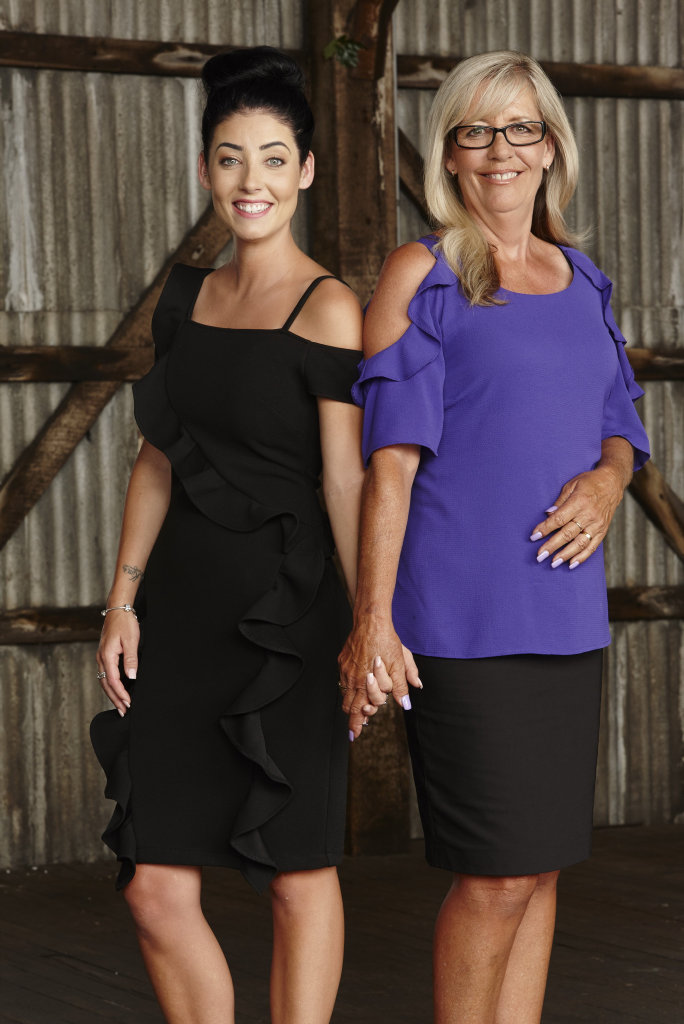 TRAILBLAZERS: Michelle and Kim were House Rules' first mum and daughter team.