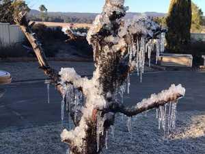 Cold weather in Toowoomba