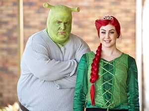 Shrek is in town