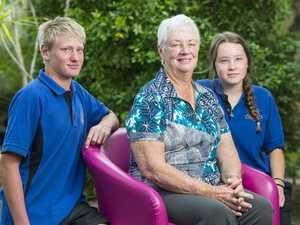 Anne Fenton with Jorja Robinson & Scott Fleming
