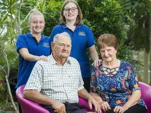 Tim & Bernie Fogarty with Kylie Fleming & Holly