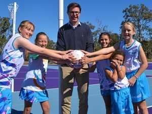 Netball courts reborn