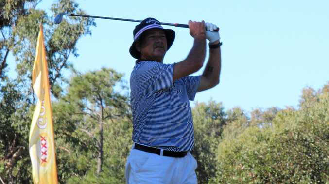Burns on fire at Legends Pro-Am