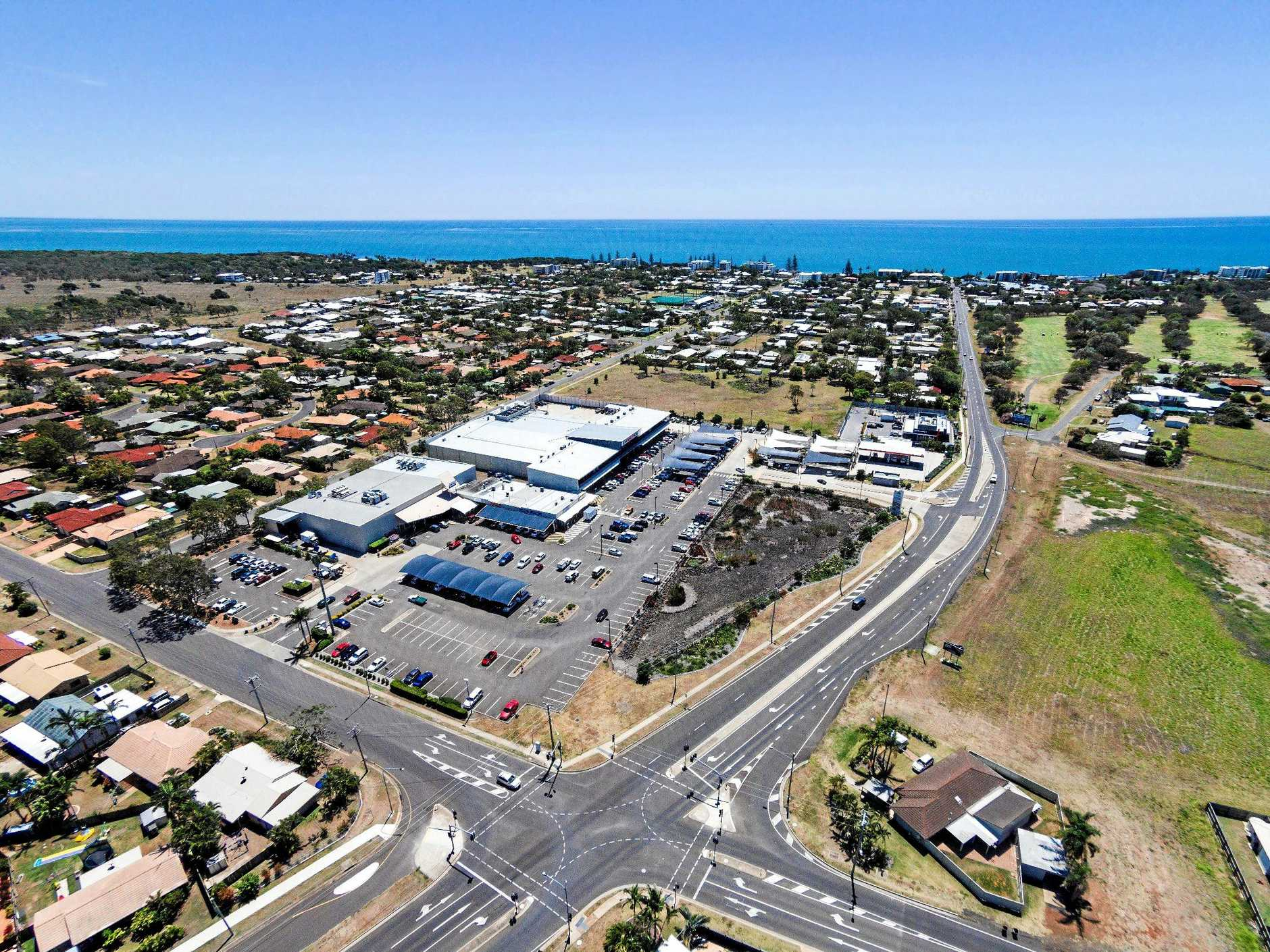 SHOPPING HEAVEN: A bird's-eye view of Bargara Central. Photo Contributed