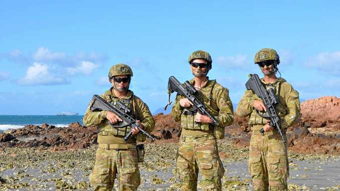 Army trains sights on 'safebase' in Bowen
