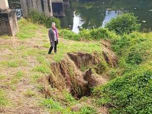 Rubbish, silt build-up brings river damage fear in Valley