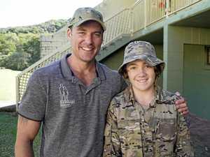 How army veterans helped Toowoomba teen's behaviour