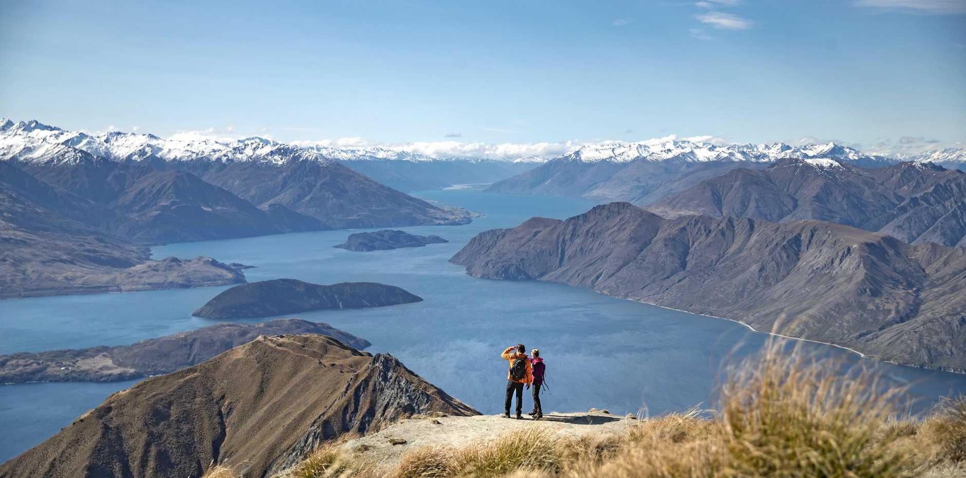 RETIRING TO NZ: Roys Peak Track, Wanaka, New Zealand.