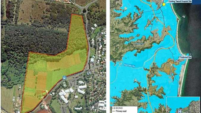 Site selection report for Tweed Valley Hospital revealed