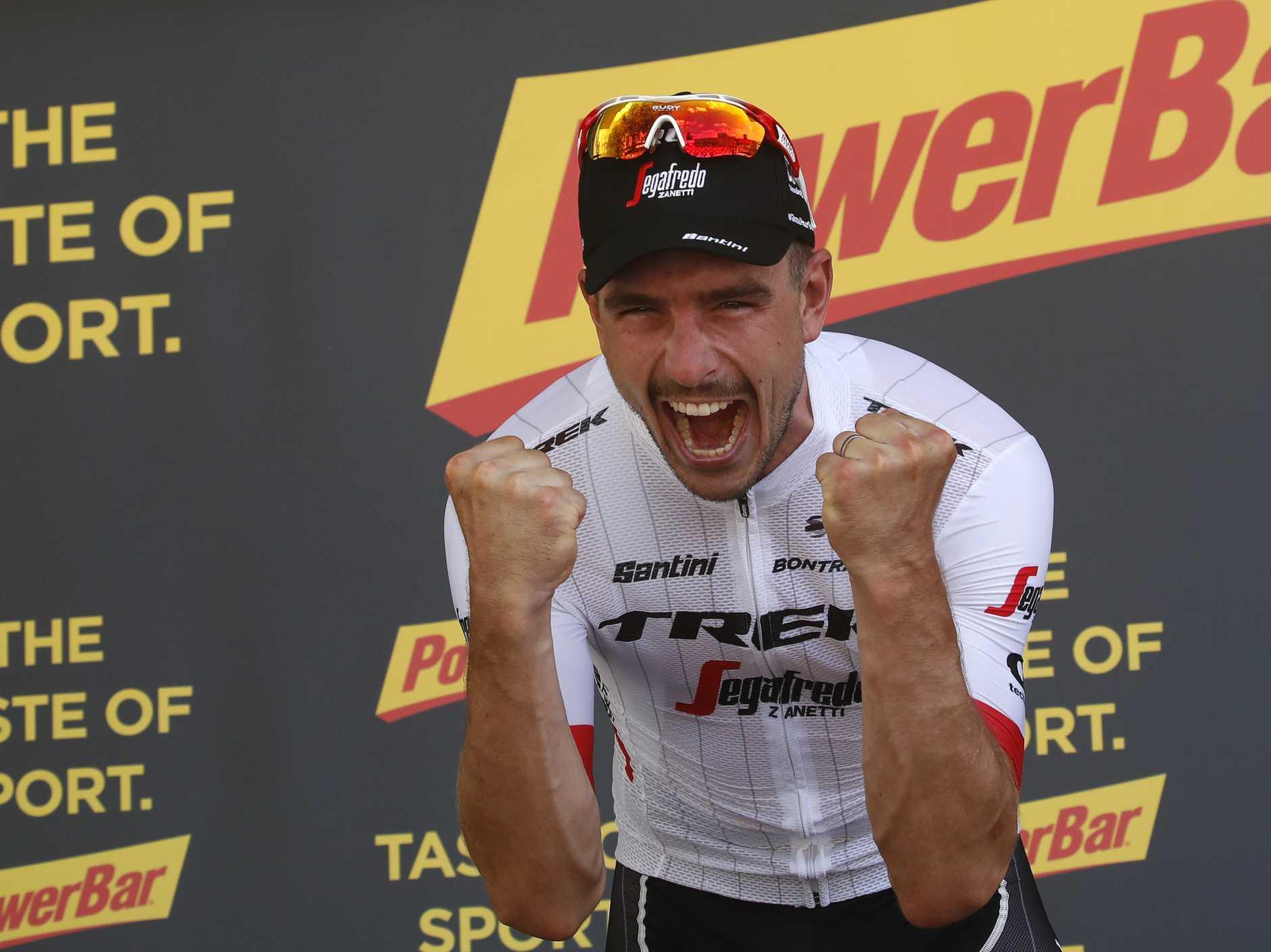 John Degenkolb won the ninth stage of the Tour de France.