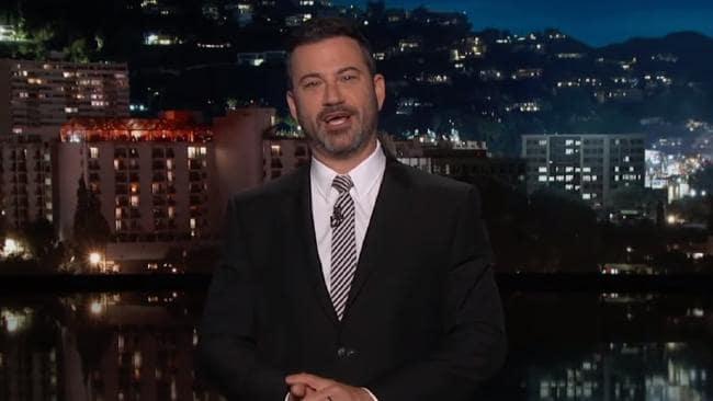 Late night TV host Jimmy Kimmel.