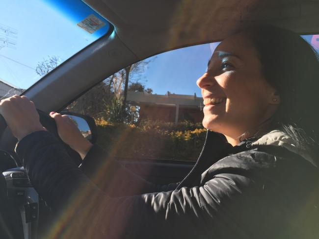 Lisa Mayoh tried the new driving app and was surprised with her results.