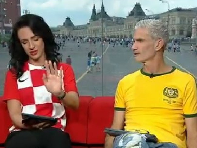 Lucy Zelic fought back tears before the game too.