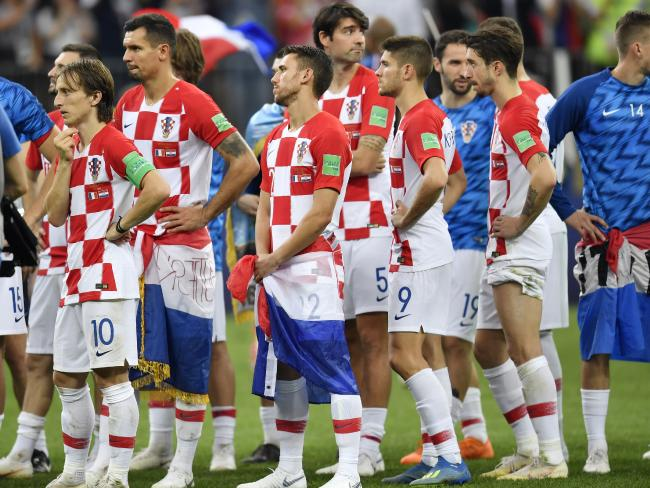 It was pure pain for Croatia.