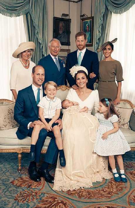 The royals. Picture: Matt Holyoak/Camera Press