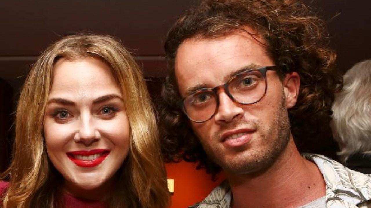 Jessica Marais and Jake Holly