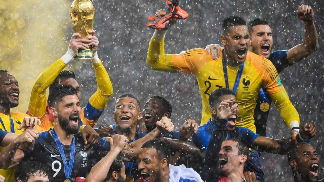 France beat Croatia 4-2 in the World Cup final on Monday morning before Dejan Lovren hit out at their tactics.