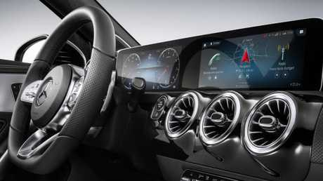 Personal assistant: Mercedes-Benz's new infotainment system learns your habits.