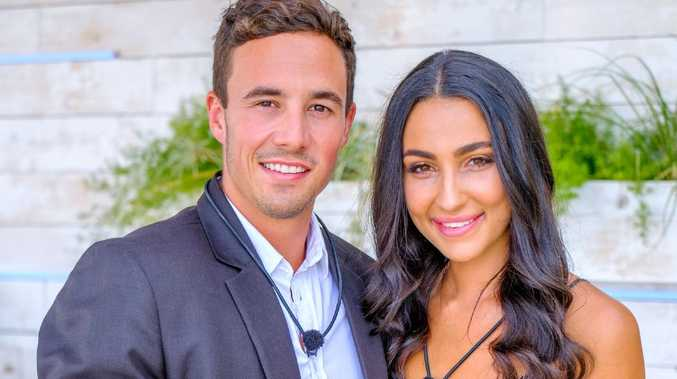 Love Island winners Grant Crapp and Tayla Damir. Picture: Channel 9